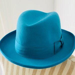 Godfather blue derby hat